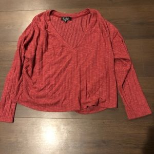 Lulus cropped sweater Size M